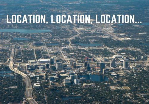 location, location, location...